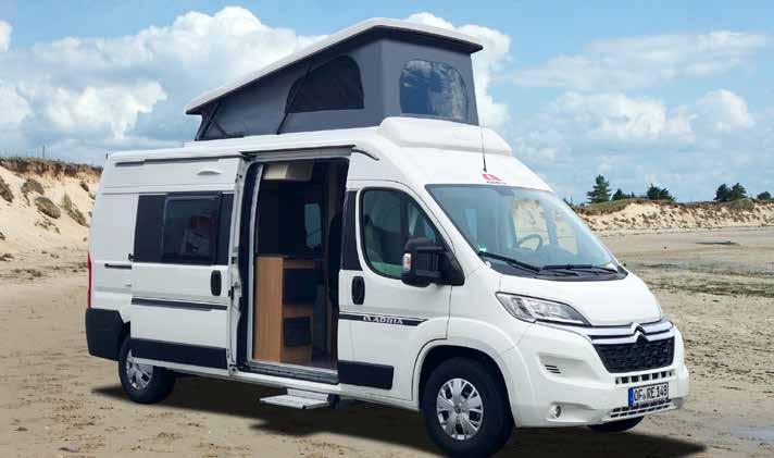 Schlafdach Maxivans