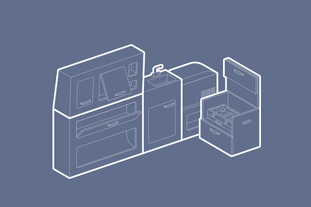 Möbel-Elemente