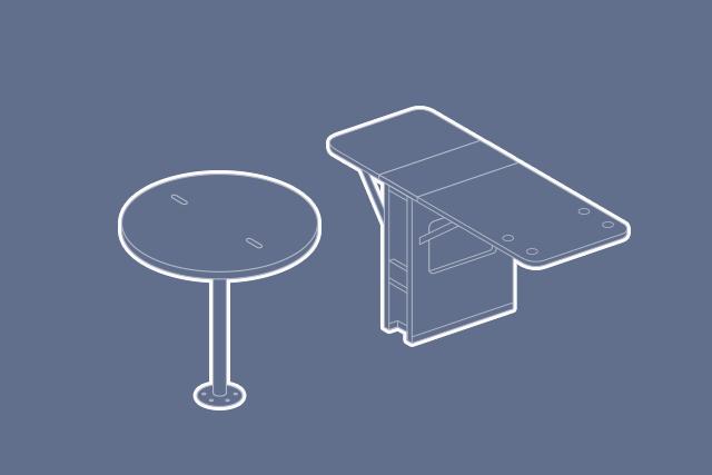 Tisch-Elemente
