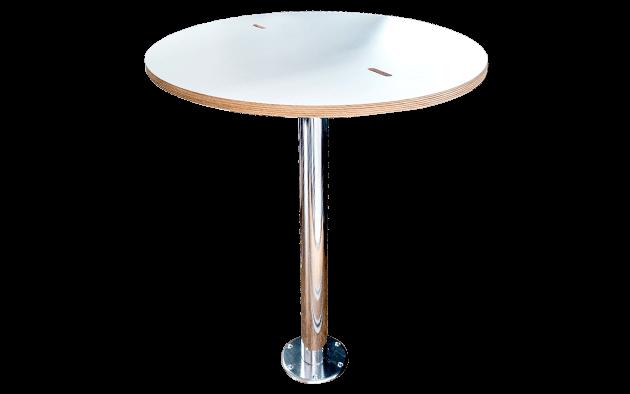 Yacht Tisch aufgebaut