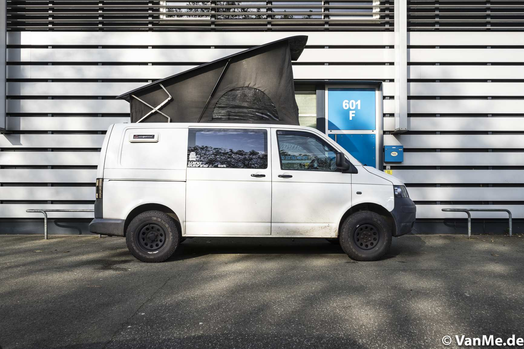 Aufstelldach: Aufstelldach für ein Monster, VW T5 4x4 - 1