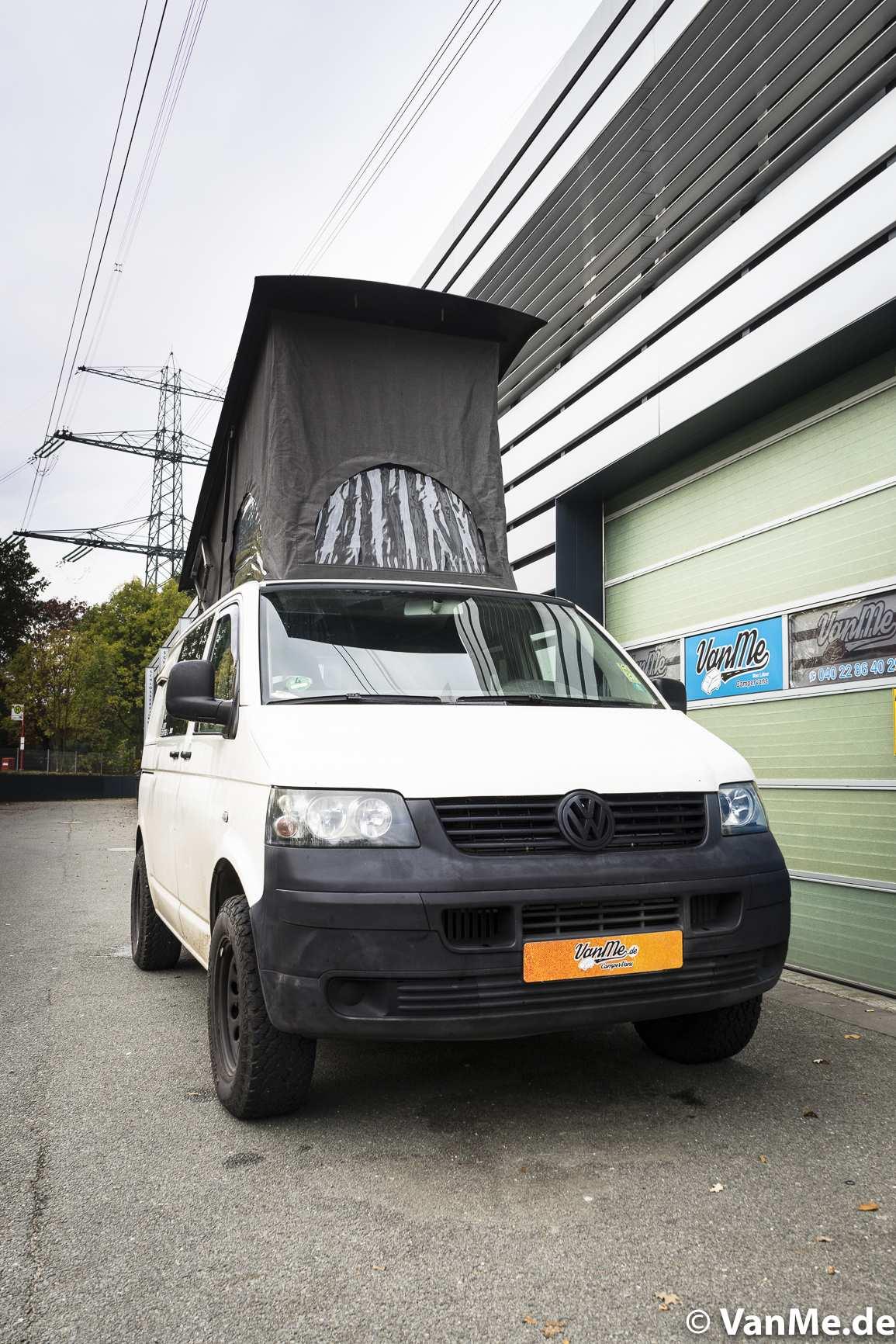 Aufstelldach: Aufstelldach für ein Monster, VW T5 4x4 - 2