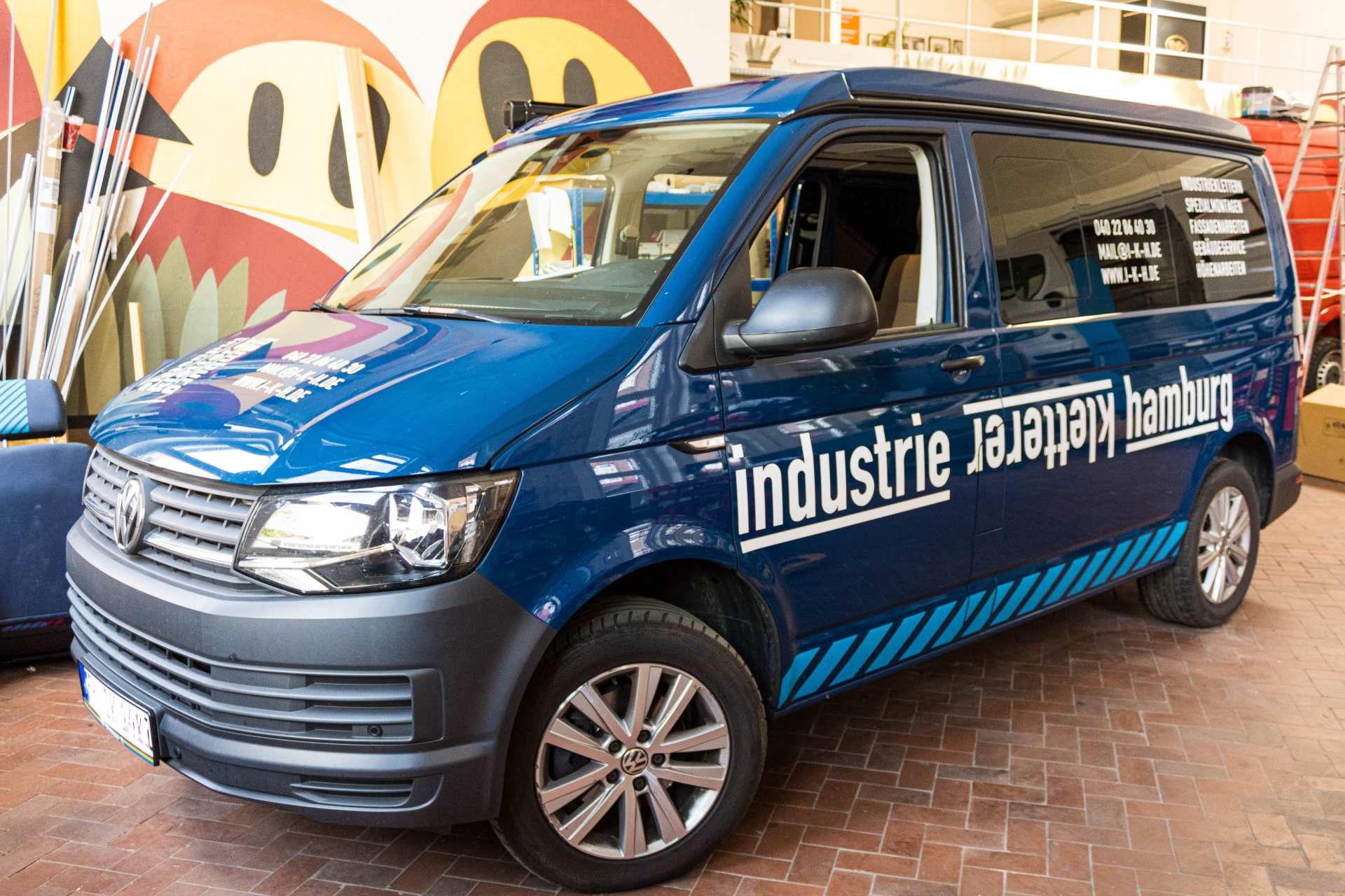 Individualausbau: Arbeitsbiene VW T6 - 1
