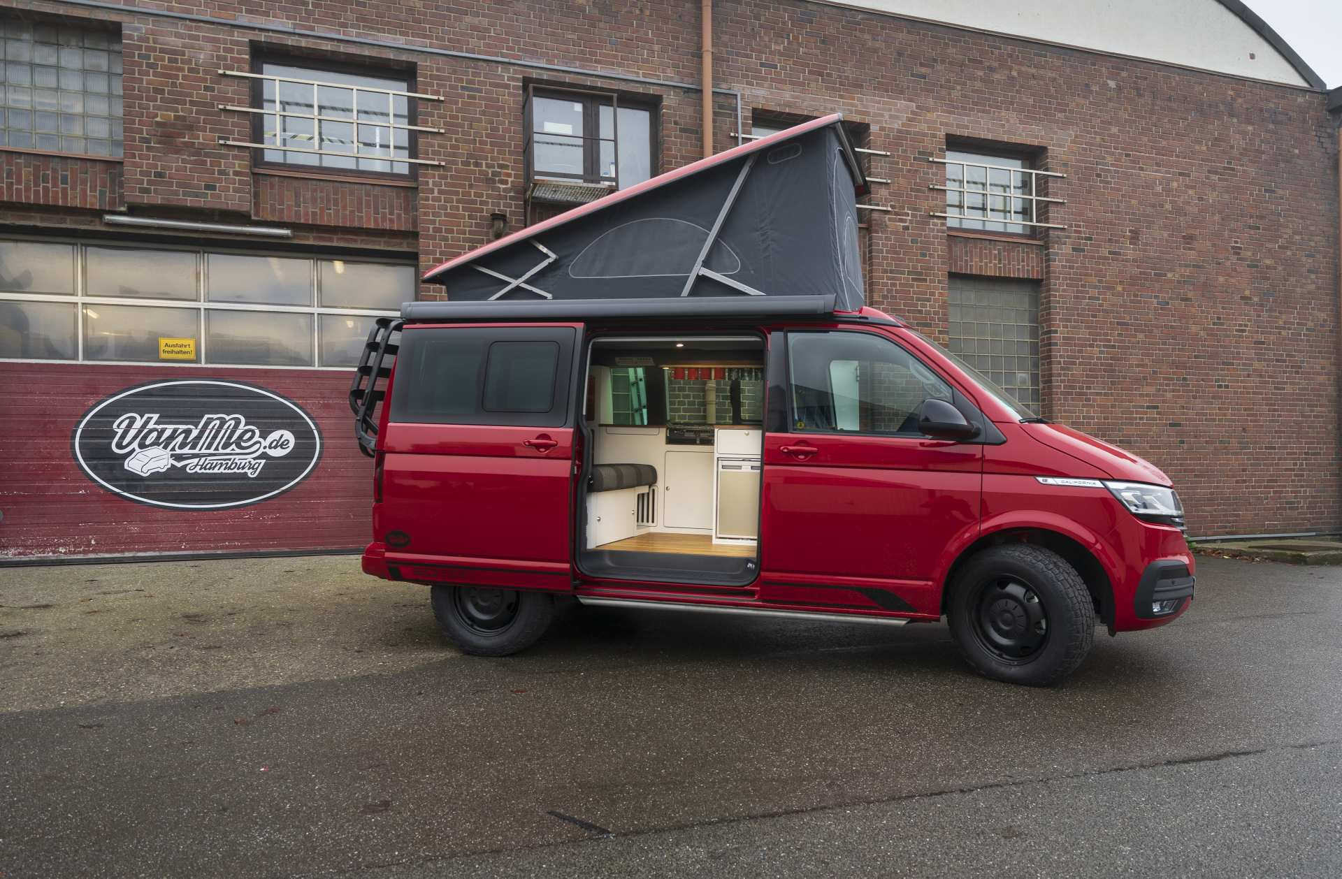 Individualausbau: VeddLiner VW T6.1 California - 1