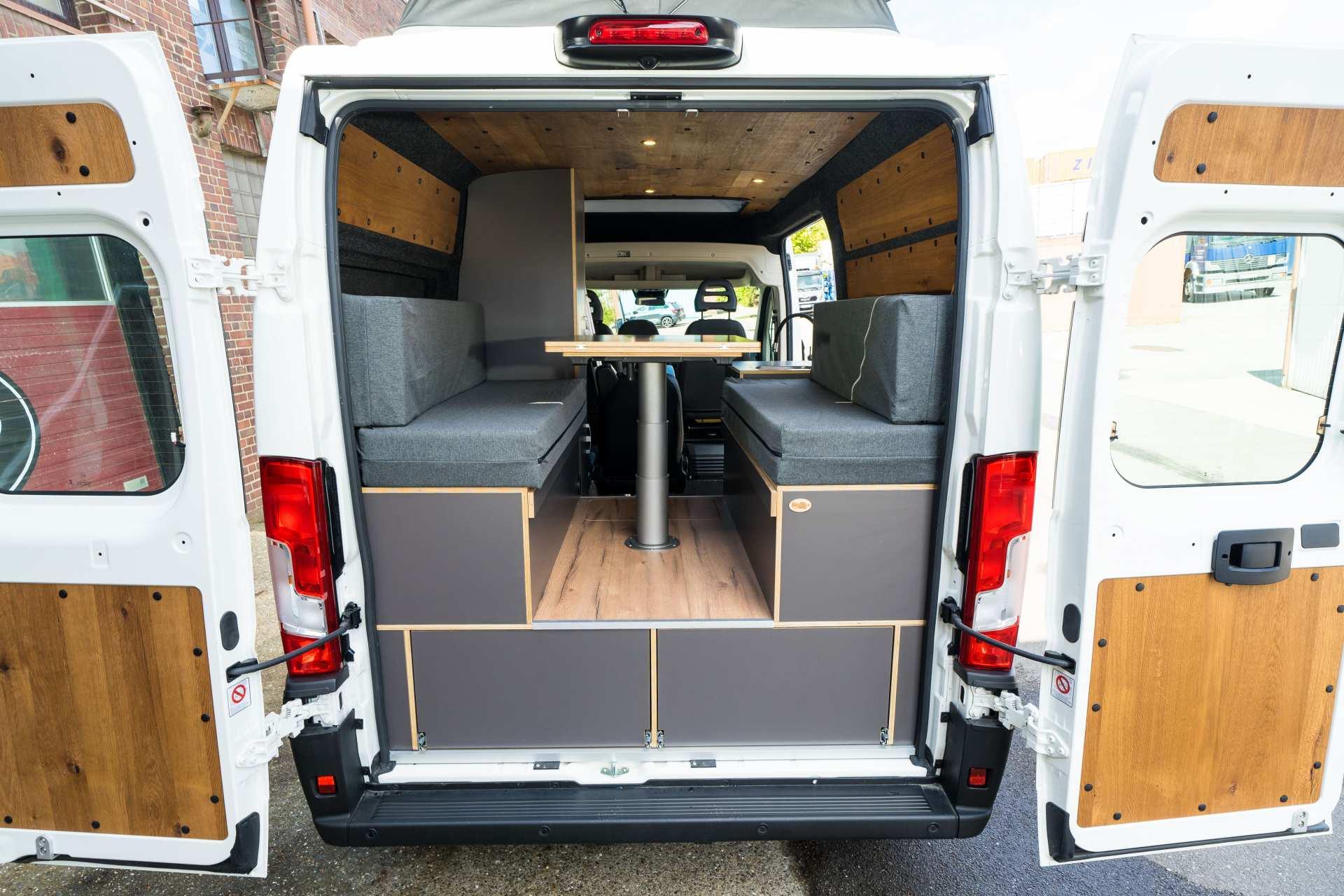 Individualausbau: Zwei-Raumwohnung Peugeot Boxer L2 H2 - 7
