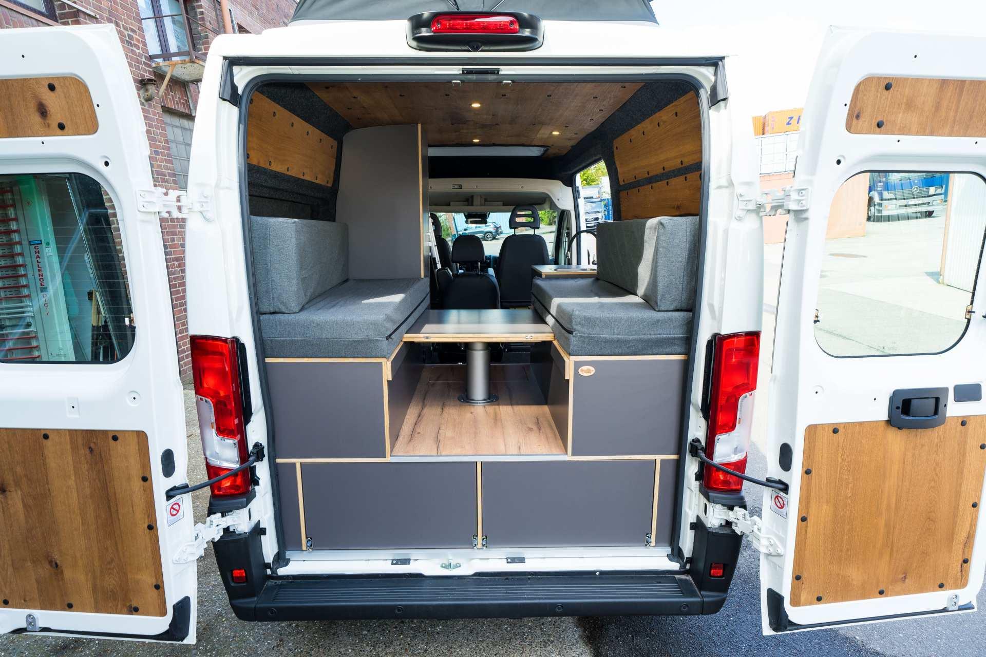 Individualausbau: Zwei-Raumwohnung Peugeot Boxer L2 H2 - 8