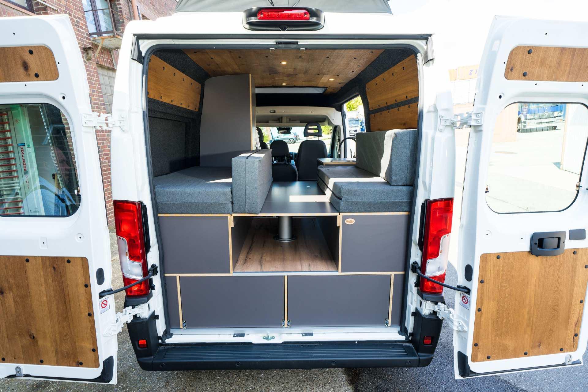 Individualausbau: Zwei-Raumwohnung Peugeot Boxer L2 H2 - 9