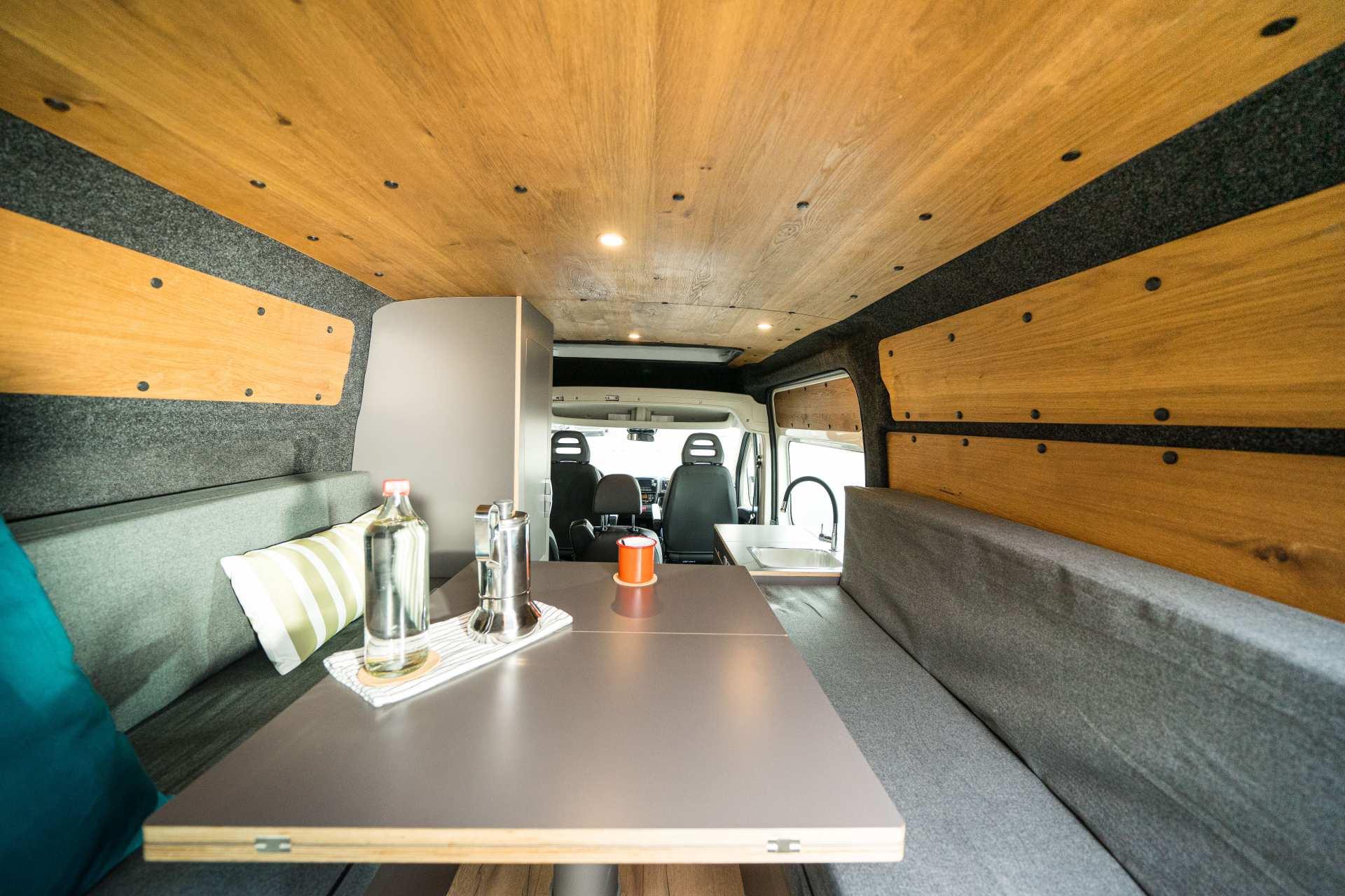 Individualausbau: Zwei-Raumwohnung Peugeot Boxer L2 H2 - 15