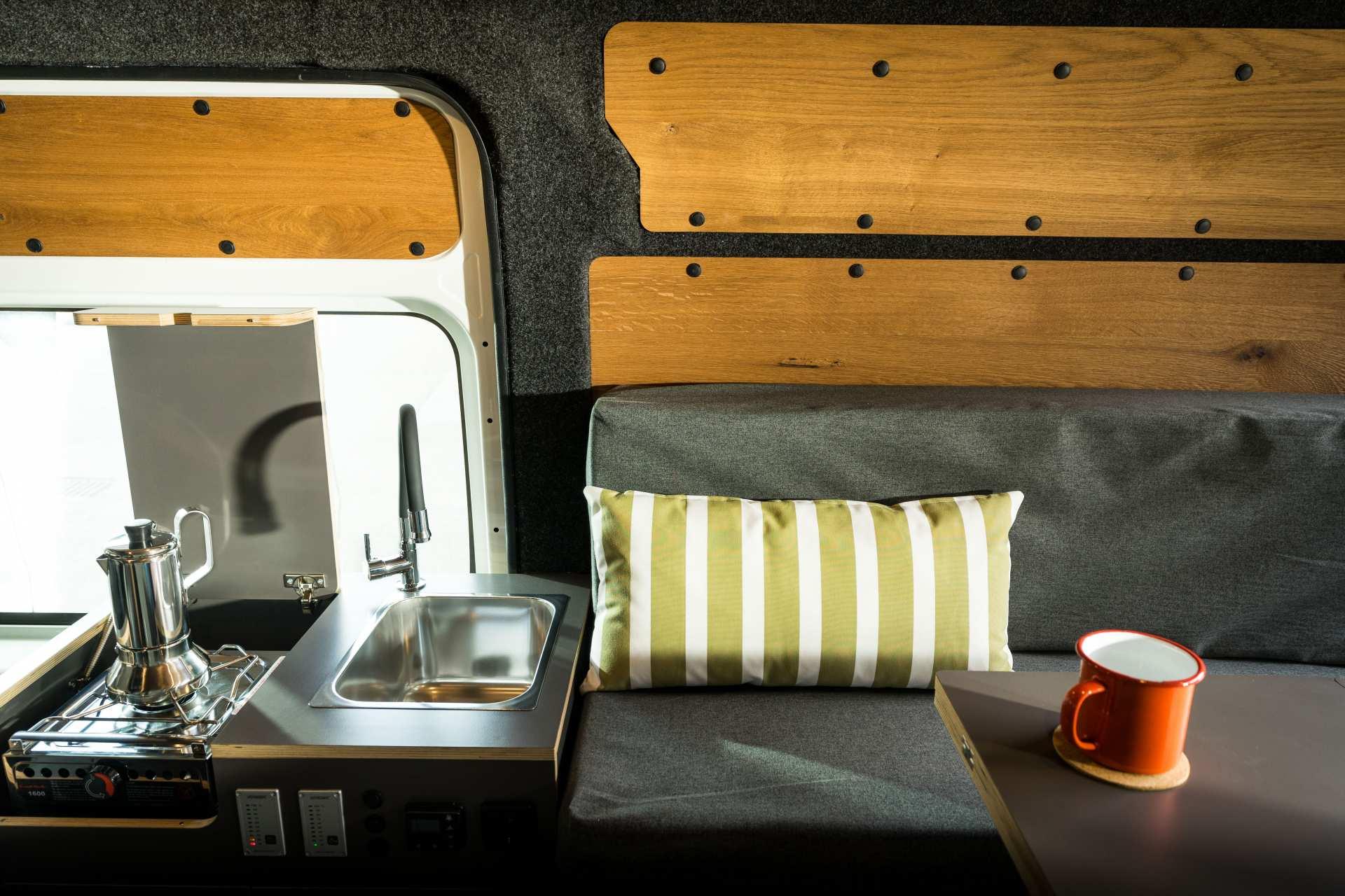 Individualausbau: Zwei-Raumwohnung Peugeot Boxer L2 H2 - 31