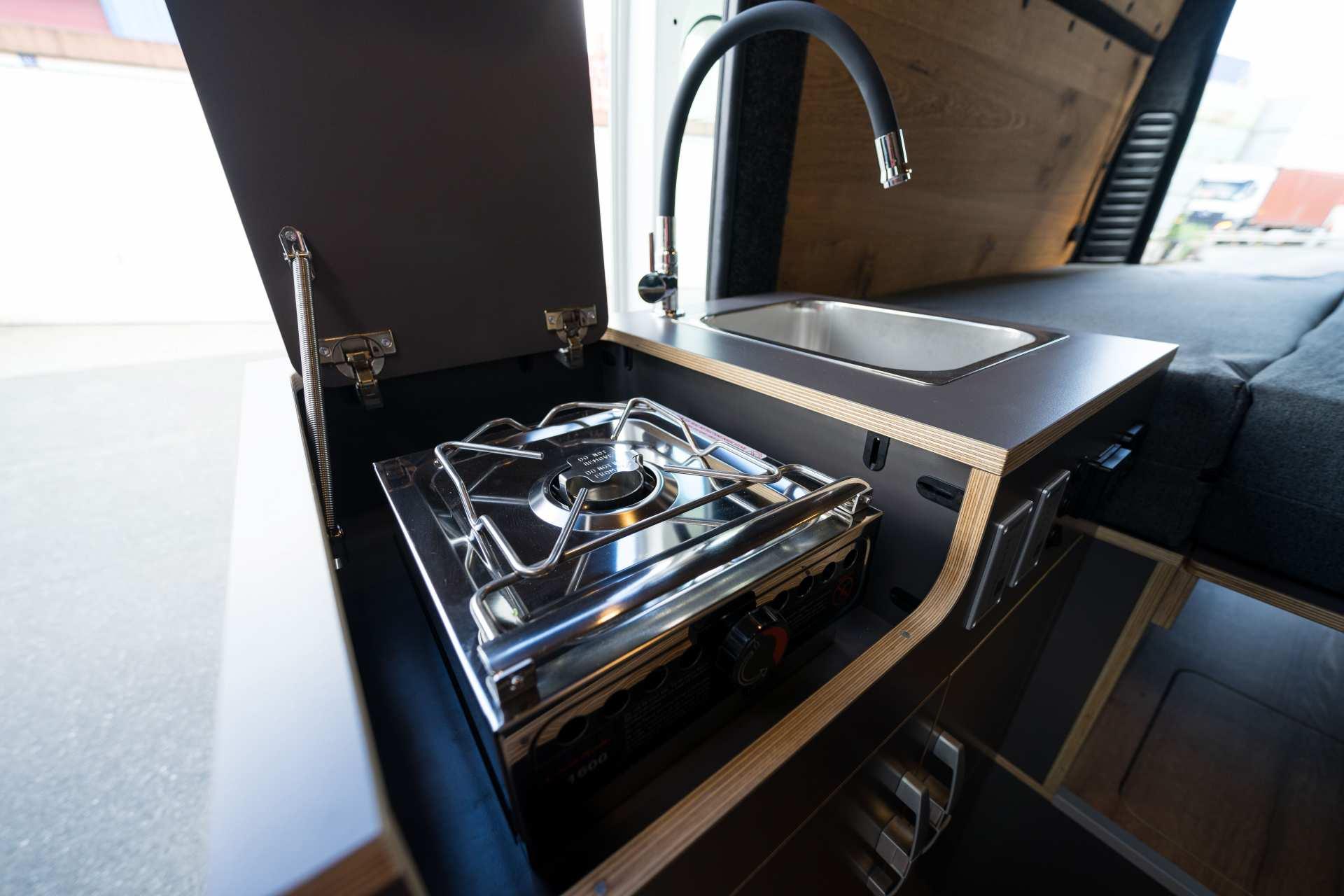 Individualausbau: Zwei-Raumwohnung Peugeot Boxer L2 H2 - 34