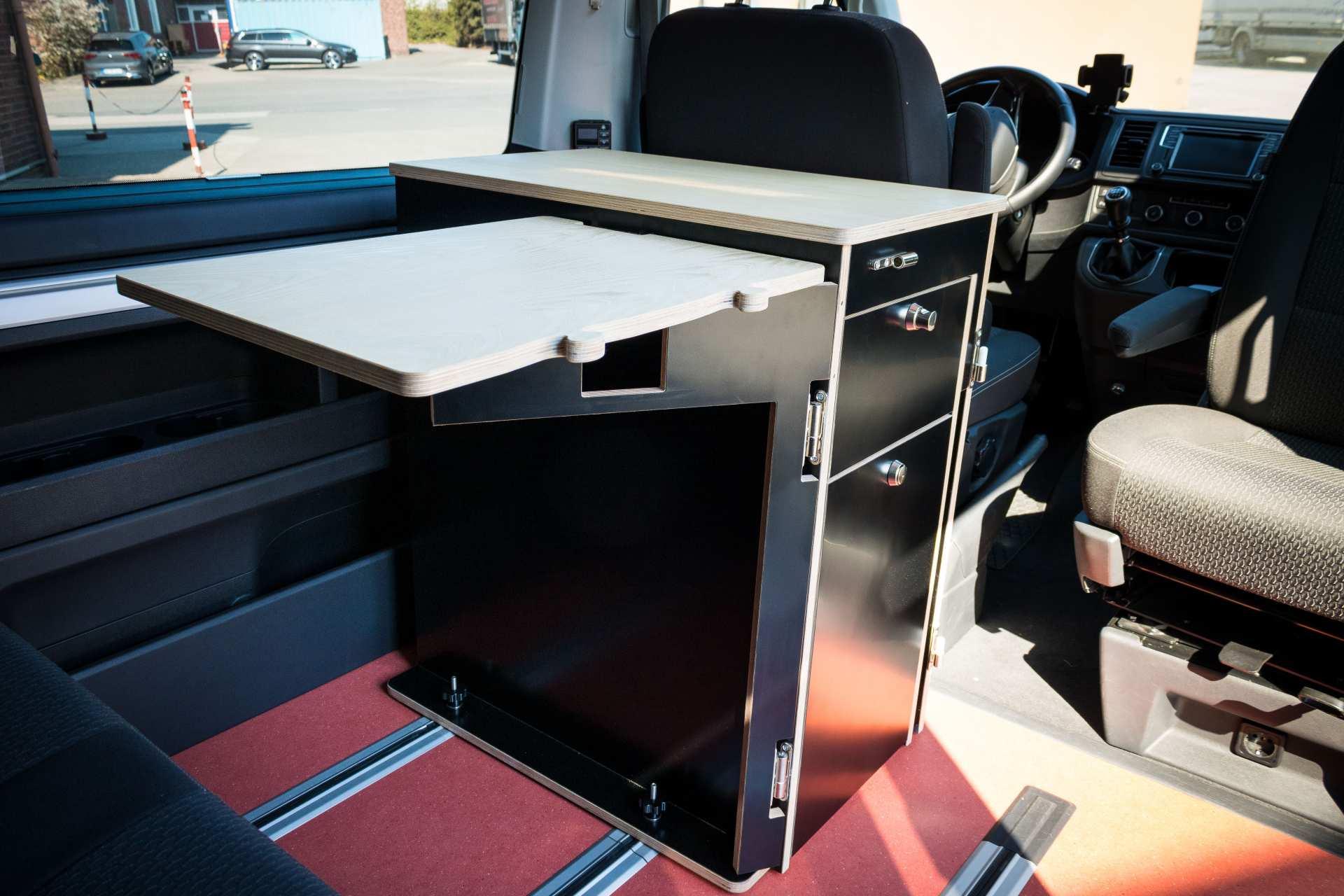 Individualausbau: Multi-Tower VW T6 Multivan - 3