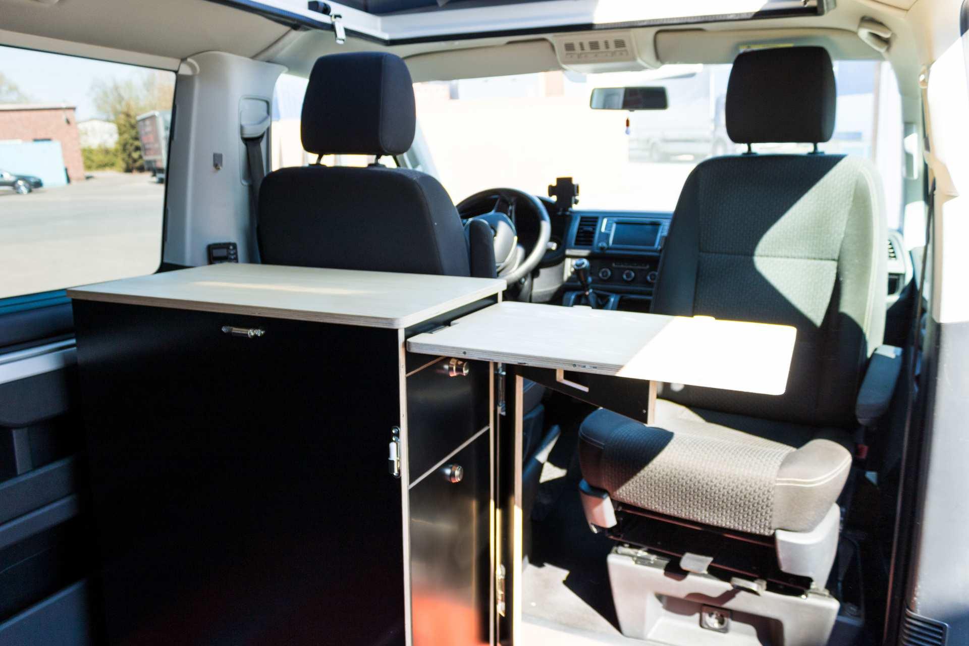 Individualausbau: Multi-Tower VW T6 Multivan - 14