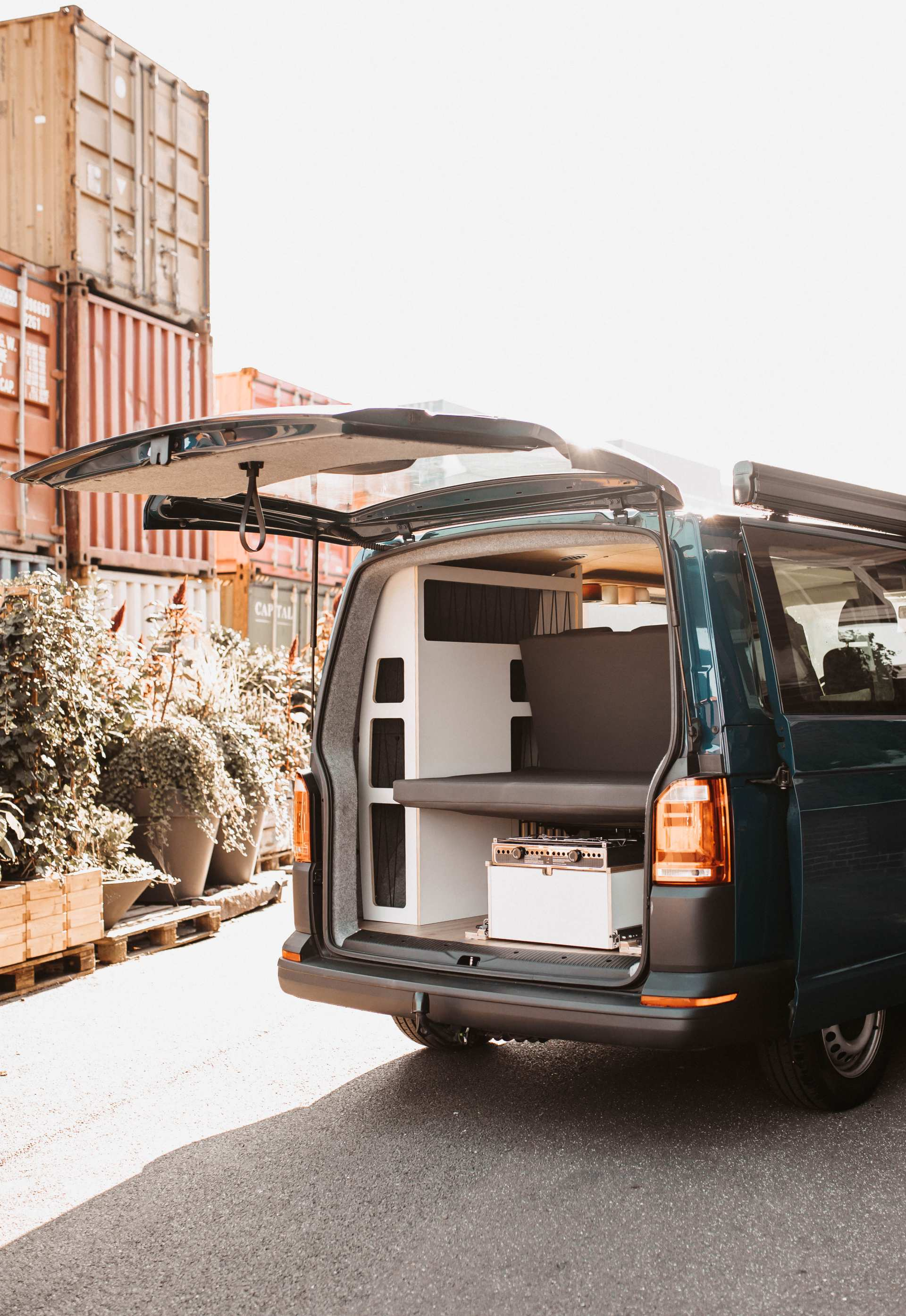 Individualausbau: VW-T6 Campervan - 4