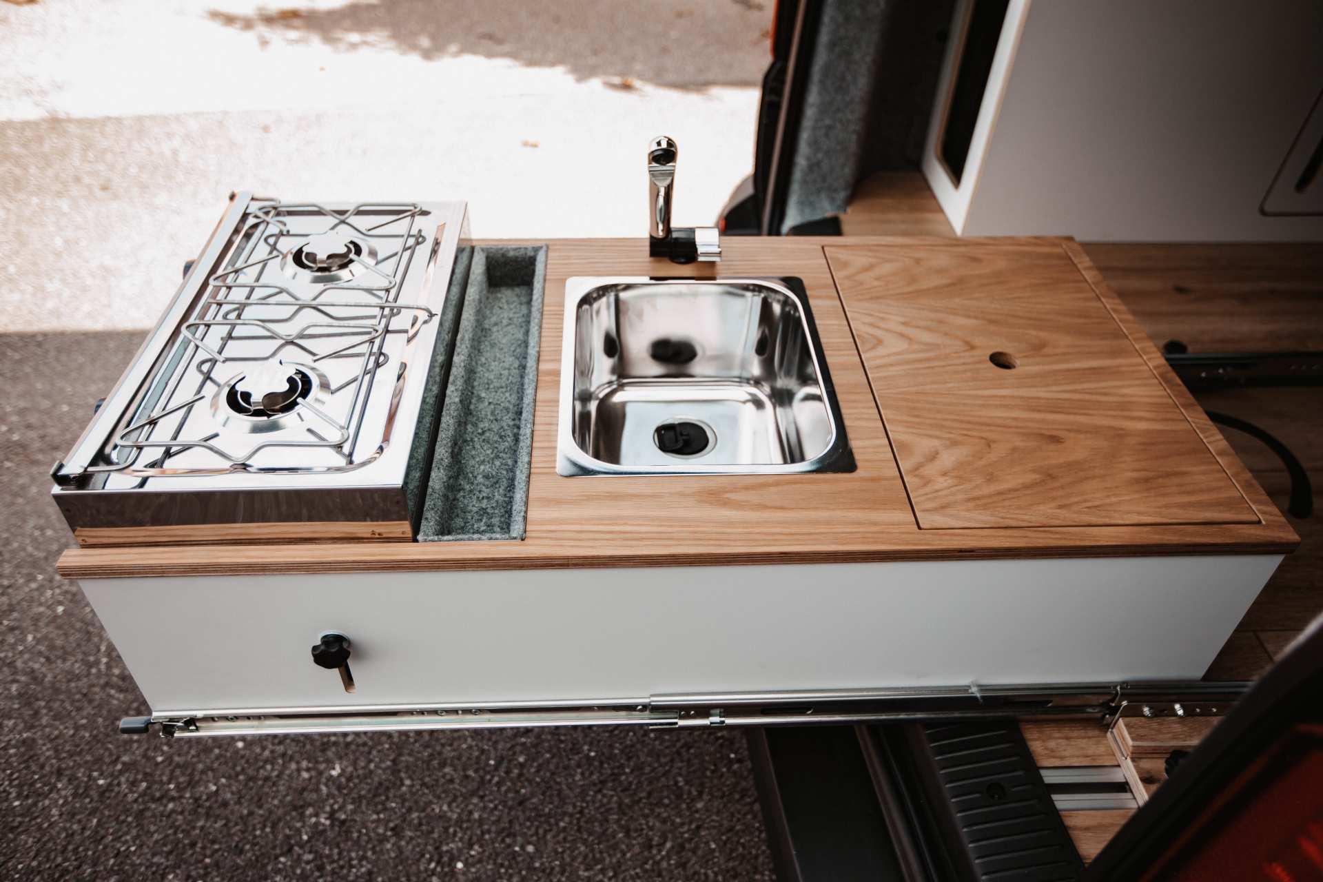 Individualausbau: VW-T6 Campervan - 10