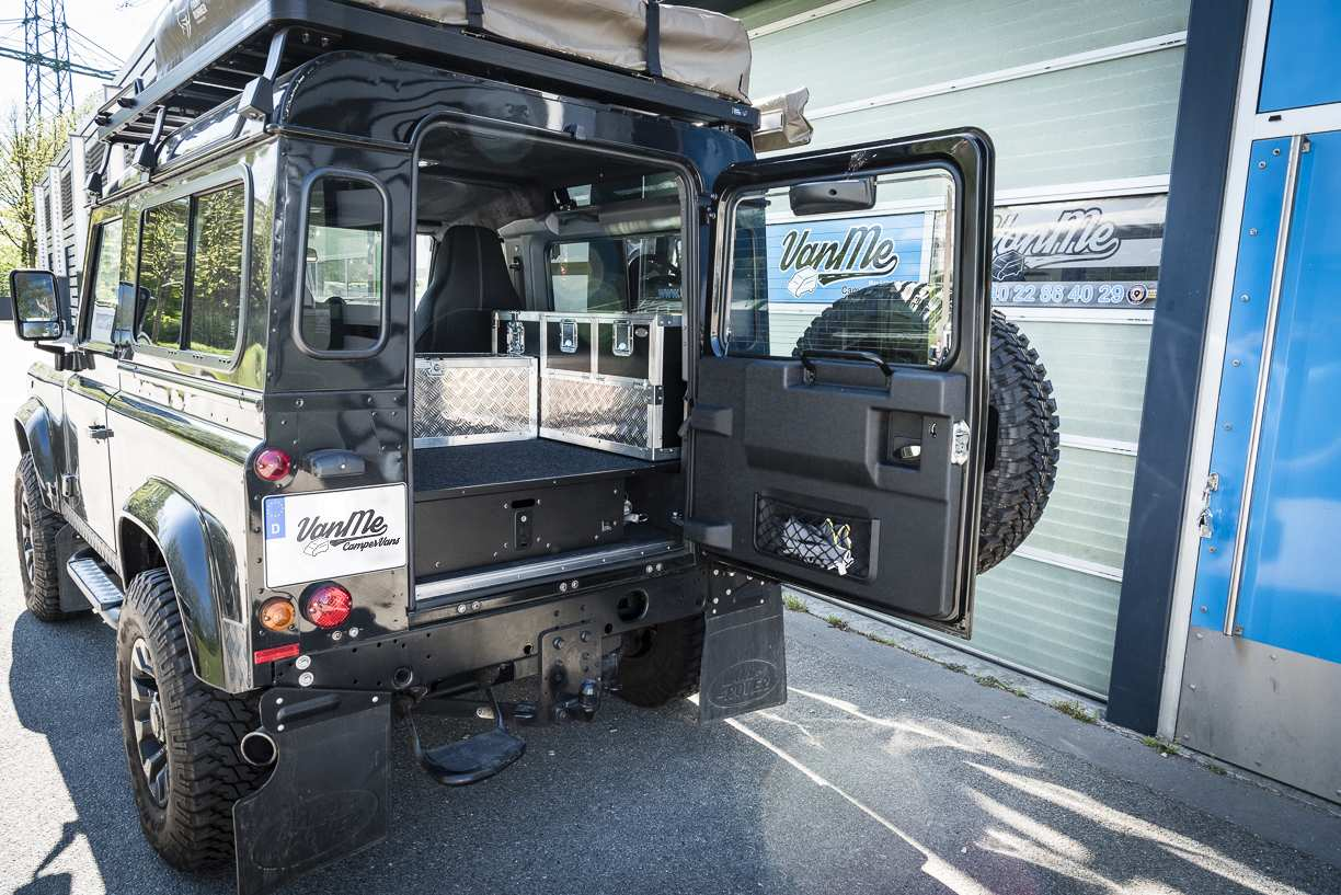 Individualausbau: Land Rover Defender 90 - 2