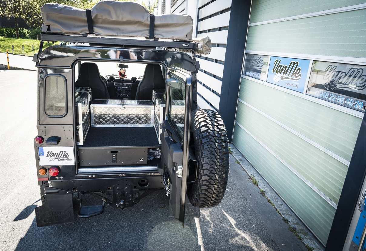 Individualausbau: Land Rover Defender 90 - 3