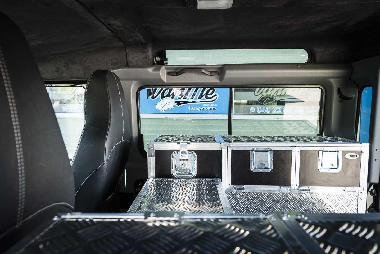 Individualausbau: Land Rover Defender 90 - 5