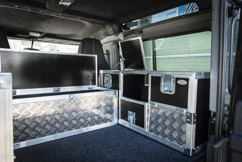 Individualausbau: Land Rover Defender 90 - 7