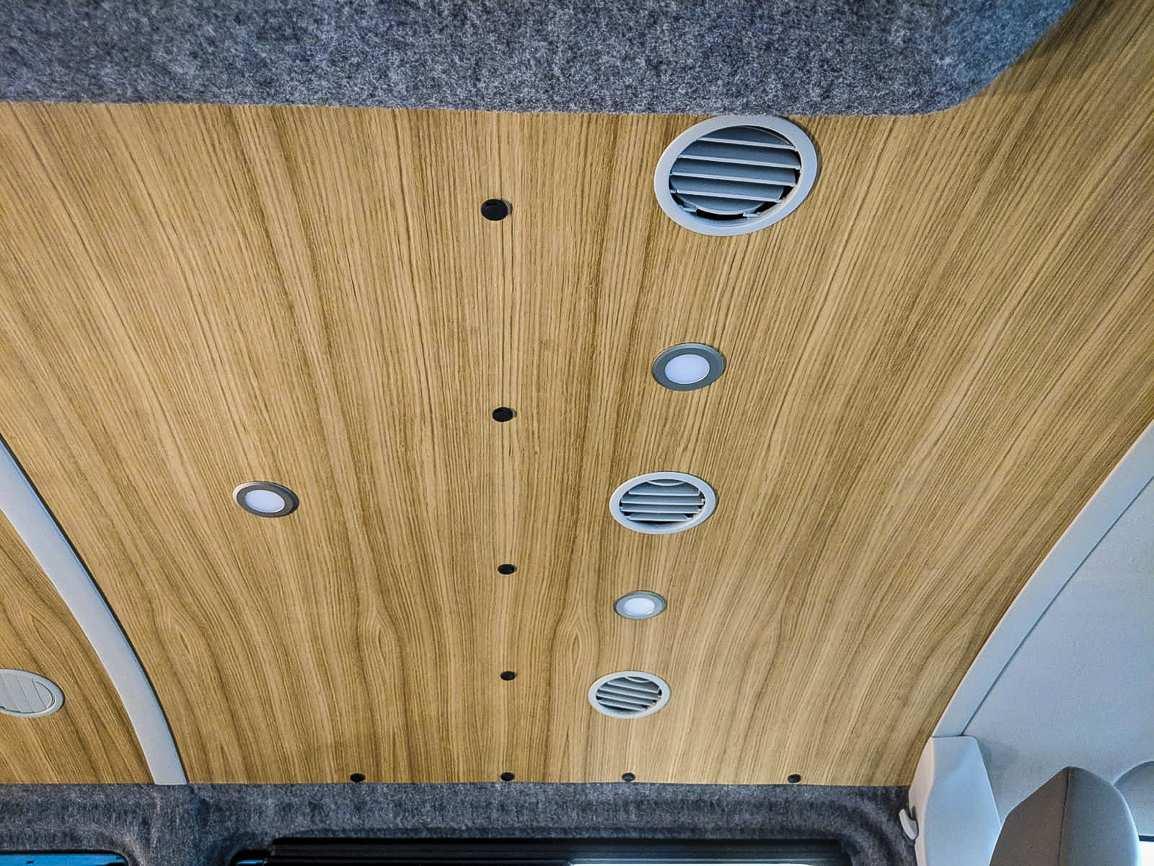 Individualausbau: VW T6 mit Klimahimmel - 3
