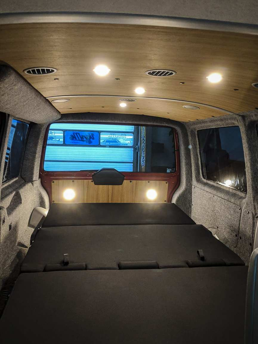 Individualausbau: VW T6 mit Klimahimmel - 5