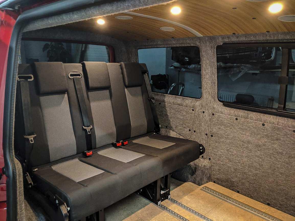 Individualausbau: VW T6 mit Klimahimmel - 9