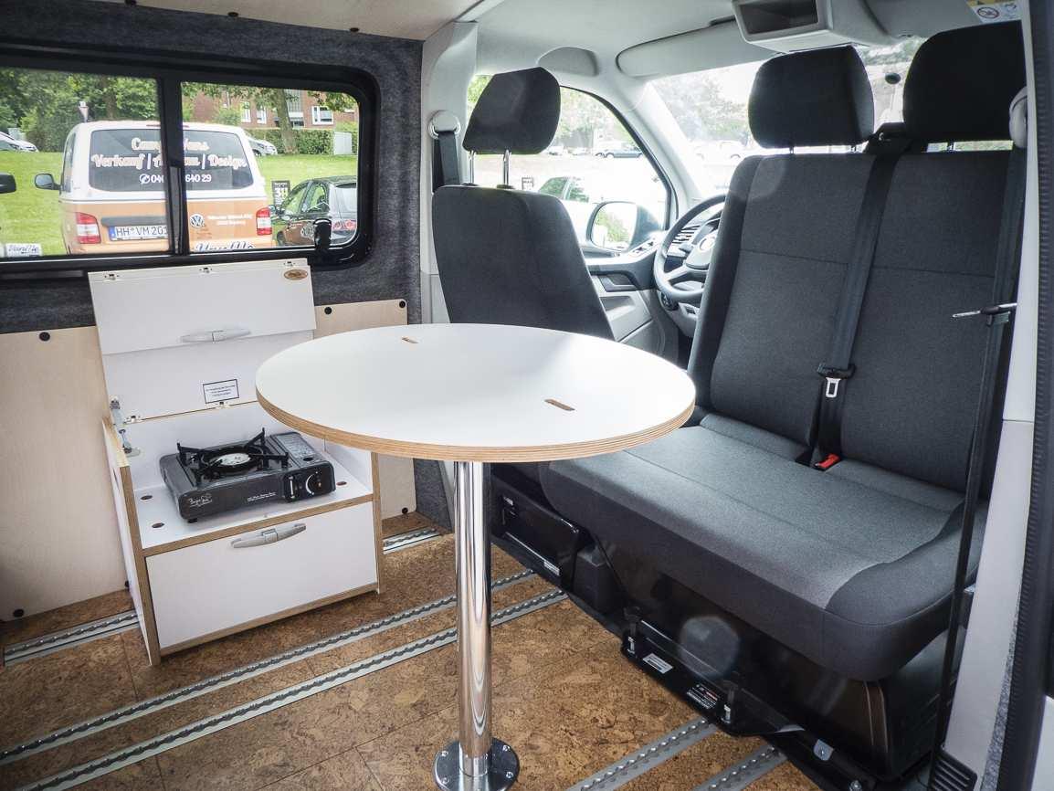 3 in 1 Konzept: VW T6 ganz in Weiß - 5