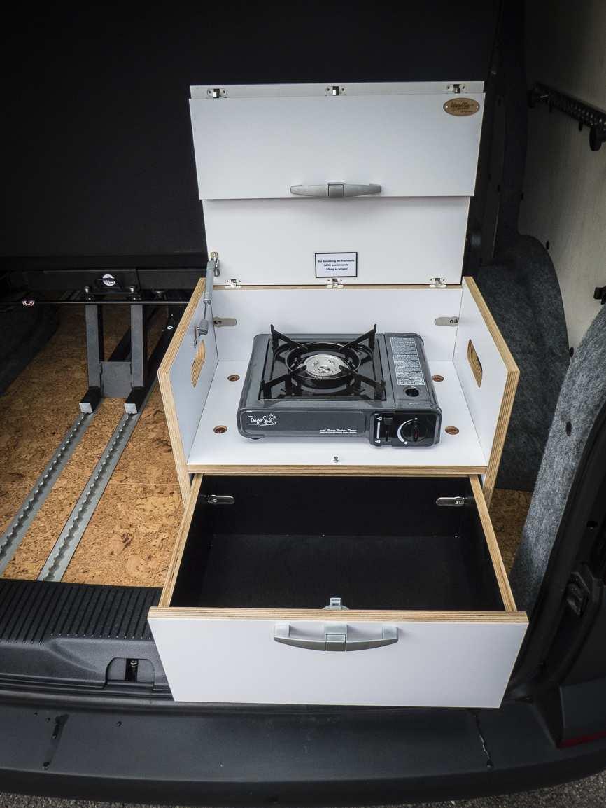 3 in 1 Konzept: VW T6 ganz in Weiß - 7