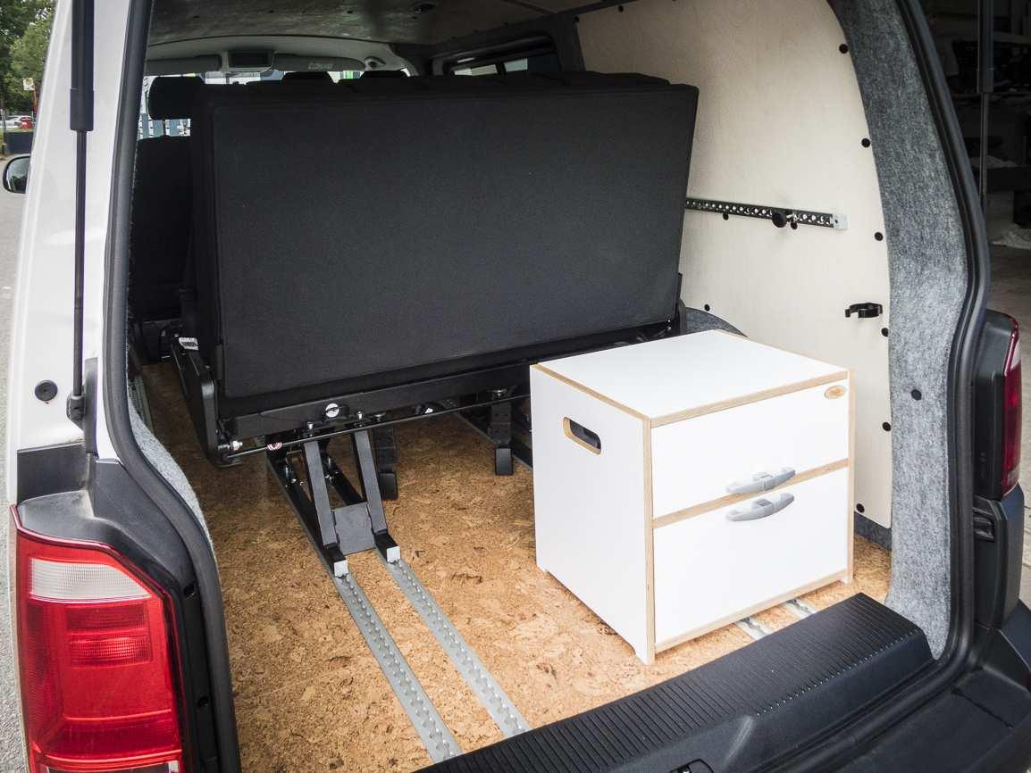 3 in 1 Konzept: VW T6 ganz in Weiß - 9