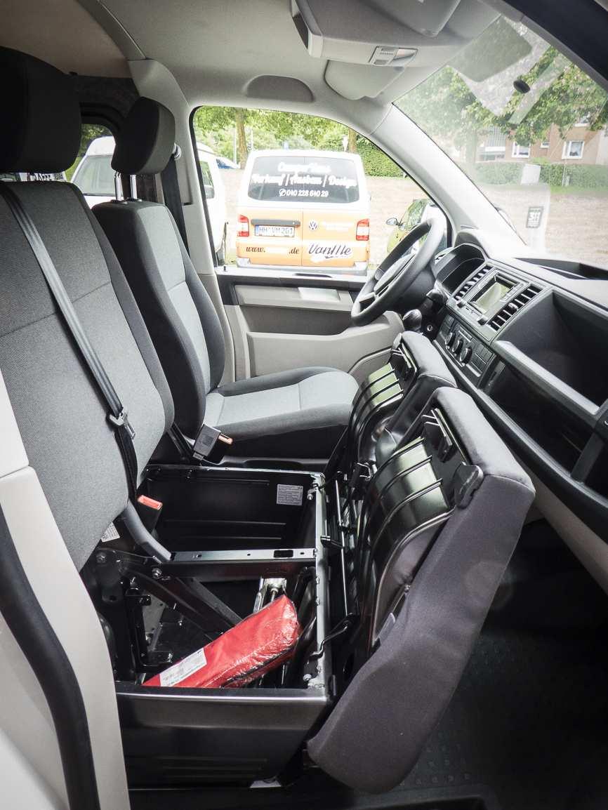 3 in 1 Konzept: VW T6 ganz in Weiß - 12
