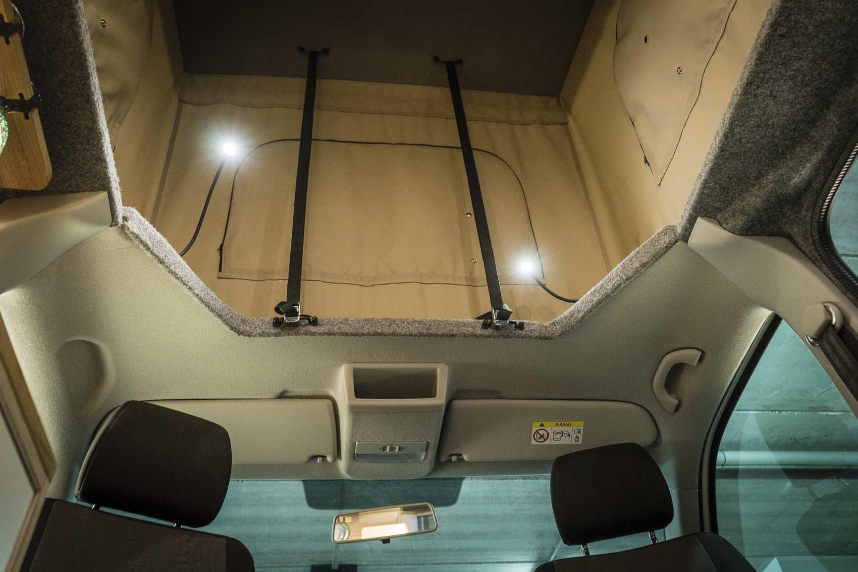 Individualausbau: VW T6 individueller und heller - 9