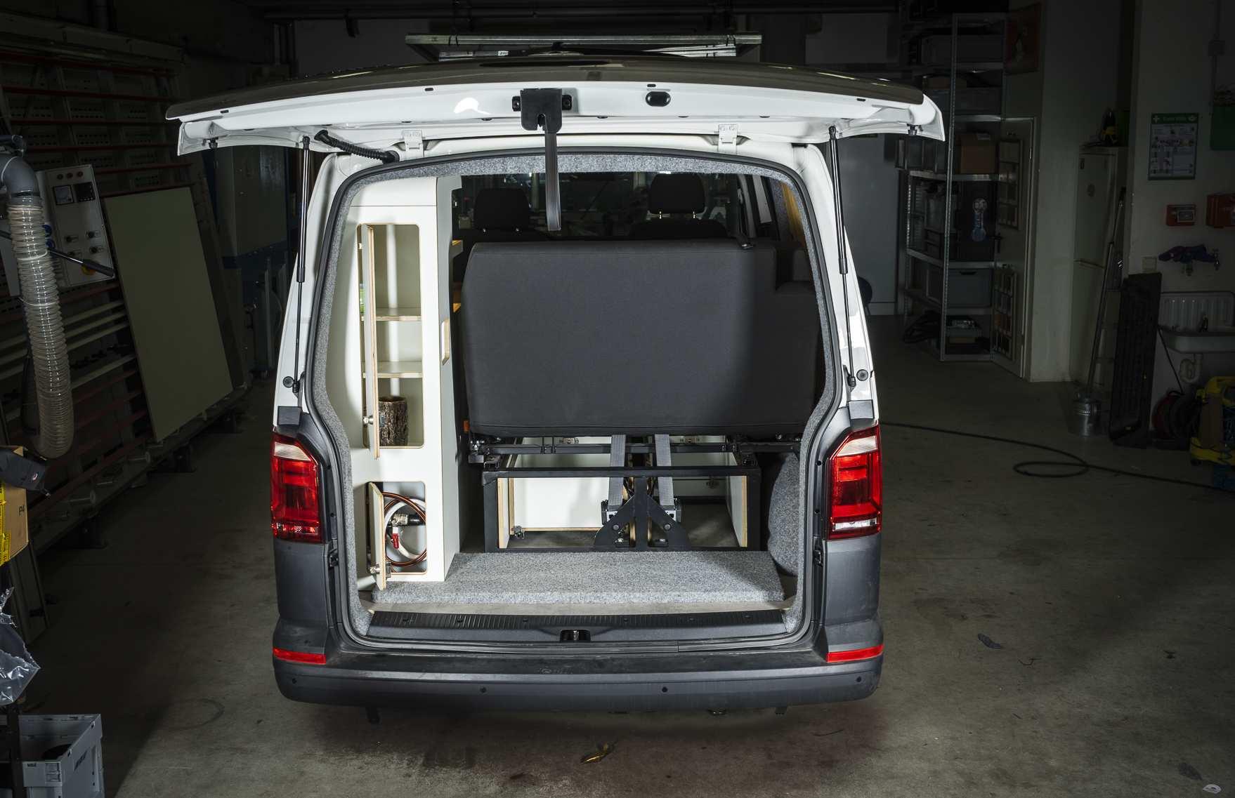Individualausbau: VW T6 individueller und heller - 26