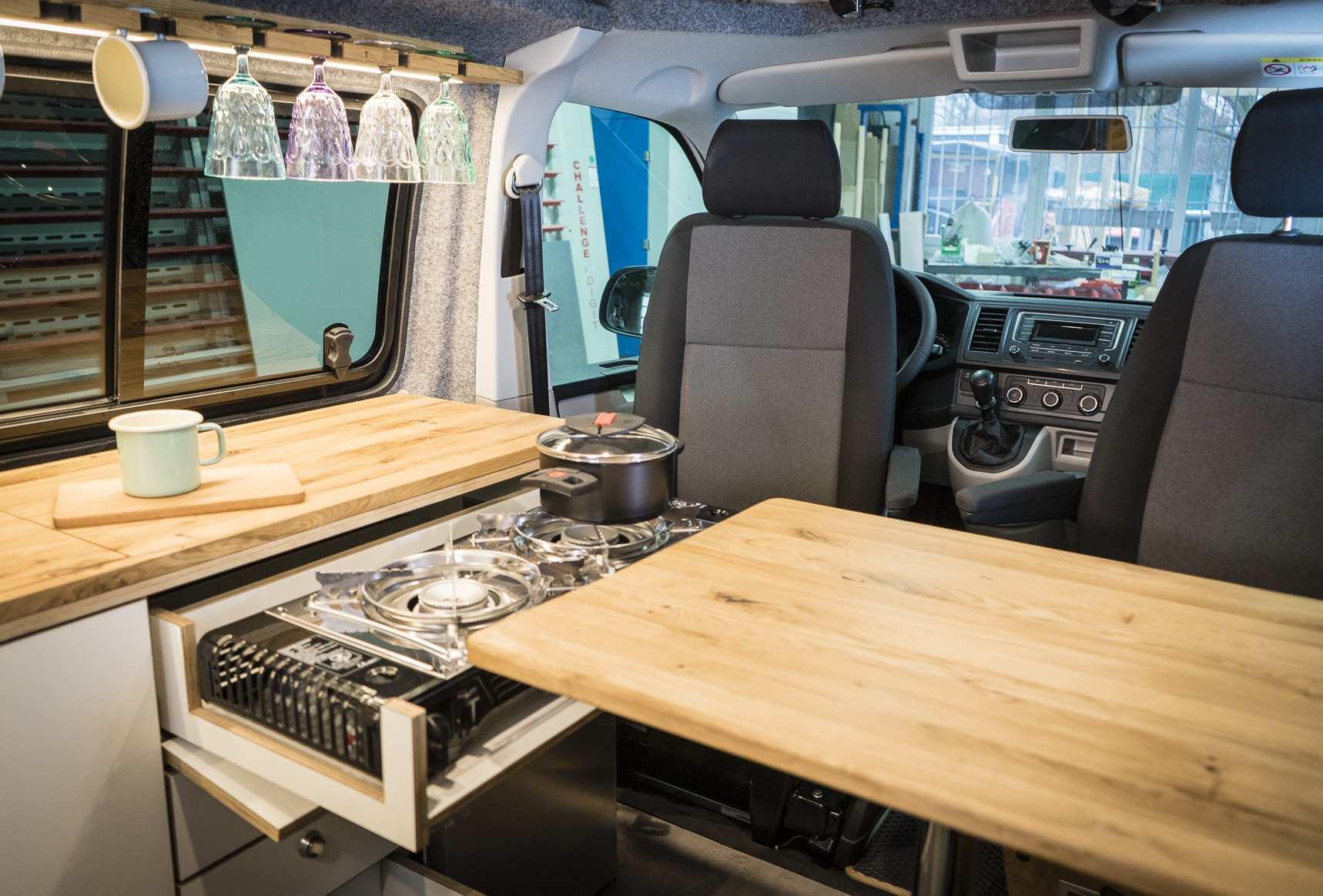 Individualausbau: VW T6 individueller und heller - 6