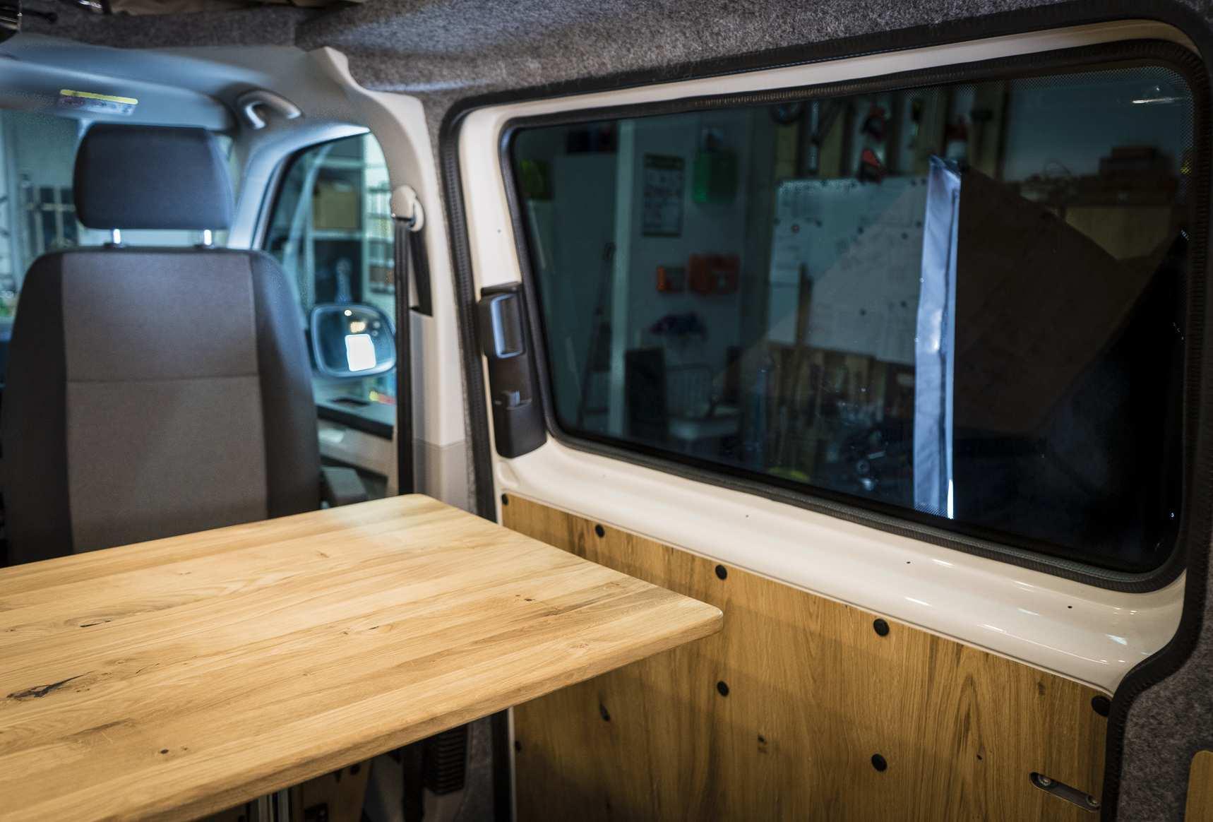 Individualausbau: VW T6 individueller und heller - 20