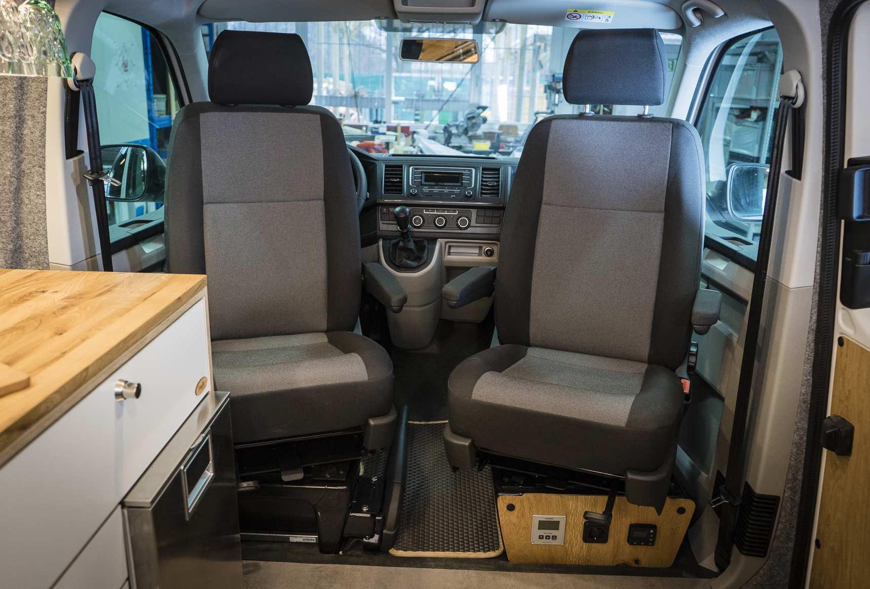 Individualausbau: VW T6 individueller und heller - 21