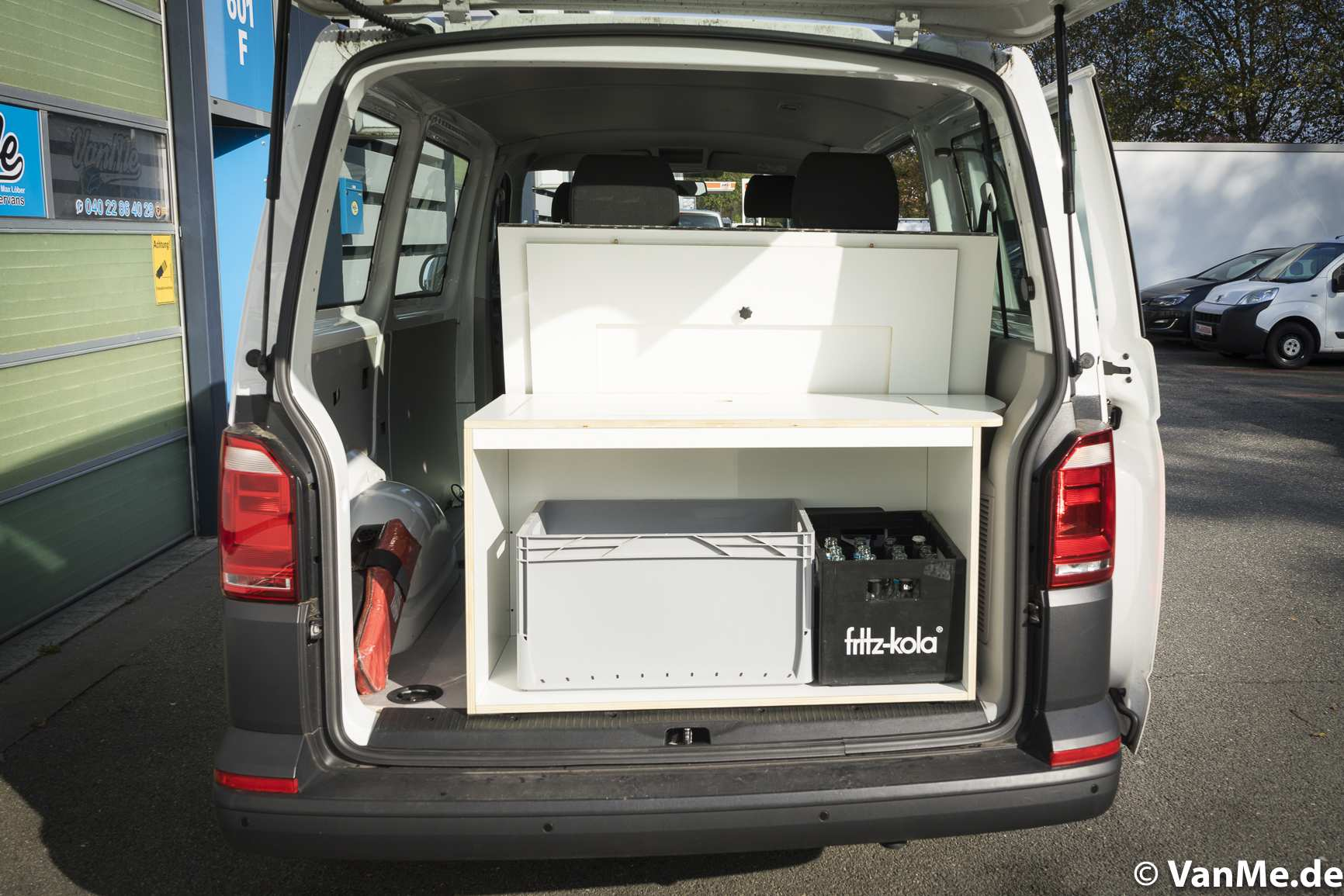 Individualausbau: VW T6 Individual Schlafmöbel - 2