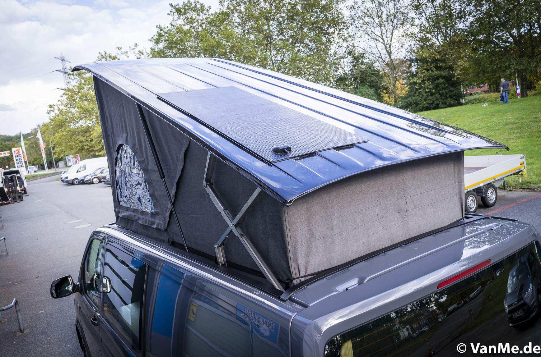 Solar auf dem Aufstelldach
