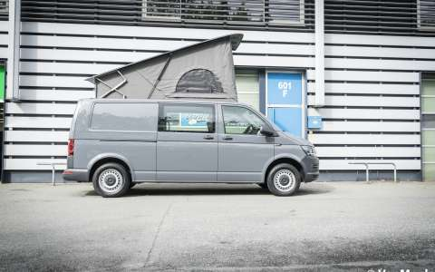 VW T6 mit The Streamline Möbel (Long Version)